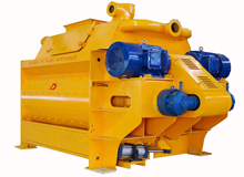 twin-shaft concrete mixer