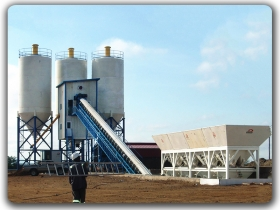 120m3/h Ready Mixed Concrete Mixing Plant