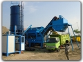 120t/h Mobile Stabilized Soil Mixing Plant