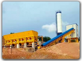 180m3/h Ready Mixed Concrete Plant