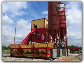 China 50-60m3/h Concrete Batching Plant Manufacturer,Supplier
