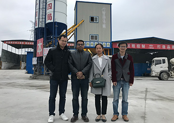 customer from Bangladesh visit our factory
