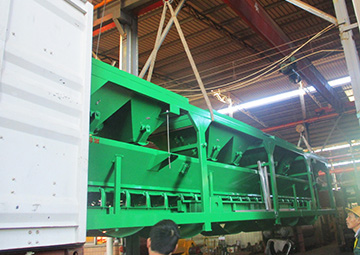 60m3/h concrete batching plant export to Bangladesh